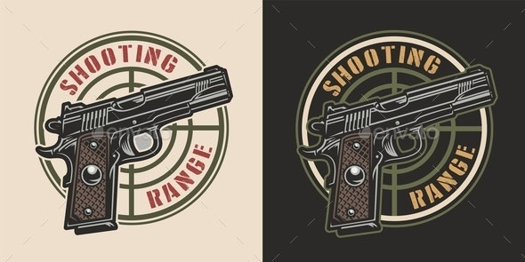 Vintage Military Logotype - Miscellaneous Vectors