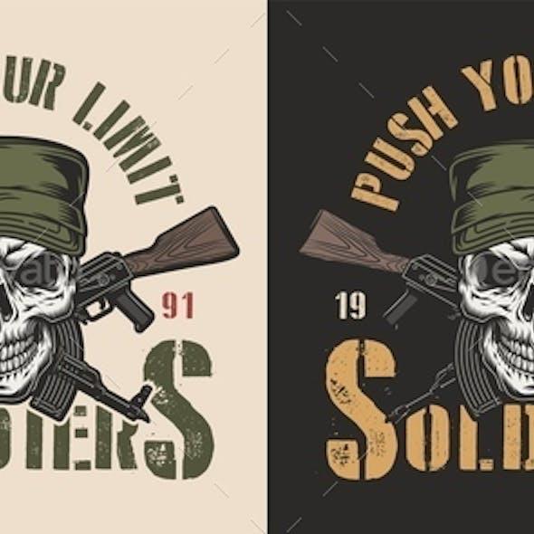 Vintage Army Badge