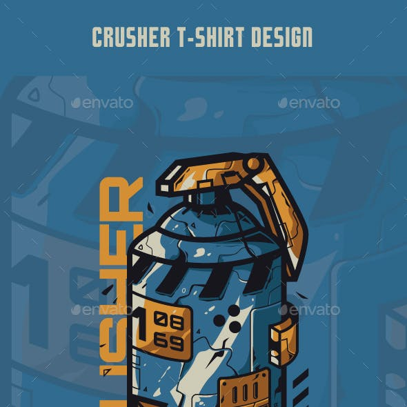Crusher T-Shirt Design