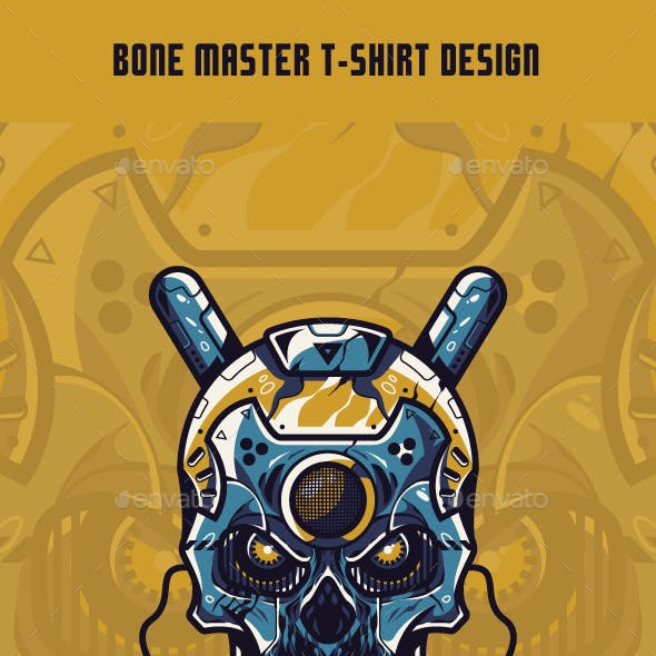 Bone Master T-Shirt Design