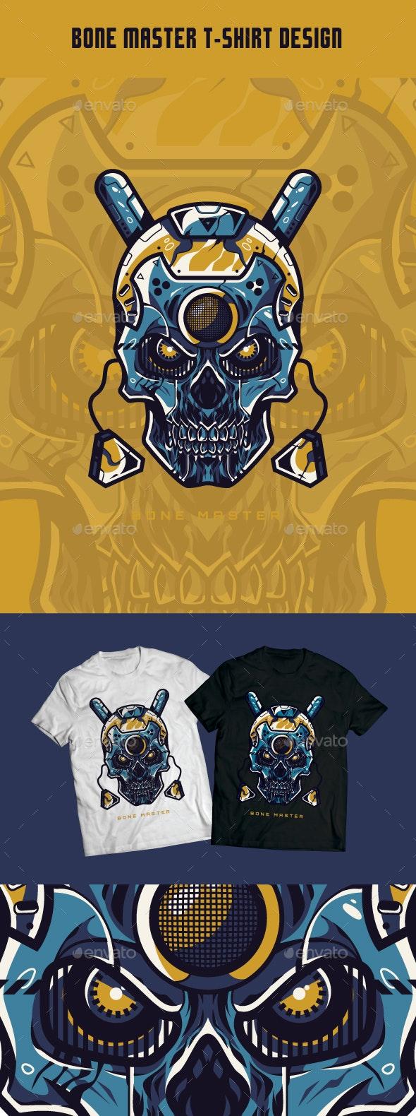 Bone Master T-Shirt Design - T-Shirts