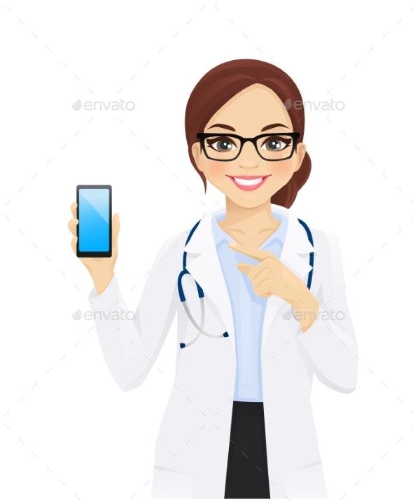 Female Doctor - Health/Medicine Conceptual