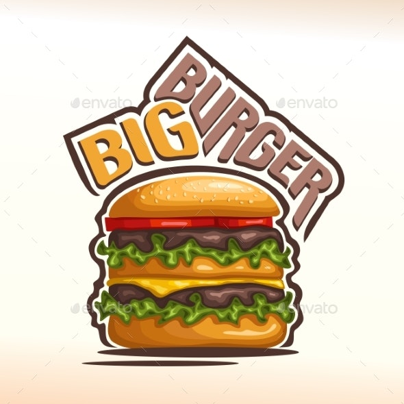 Vector Burger - Food Objects