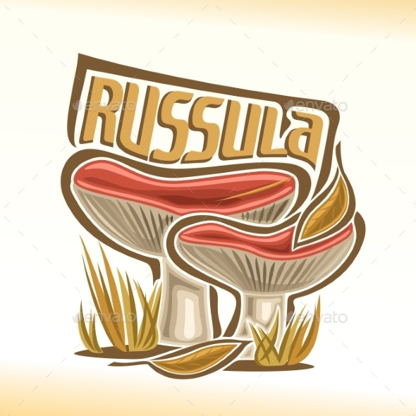 Vector Russula - Food Objects