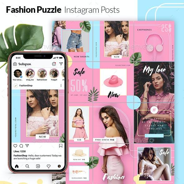Fashion Puzzle - Instagram Posts