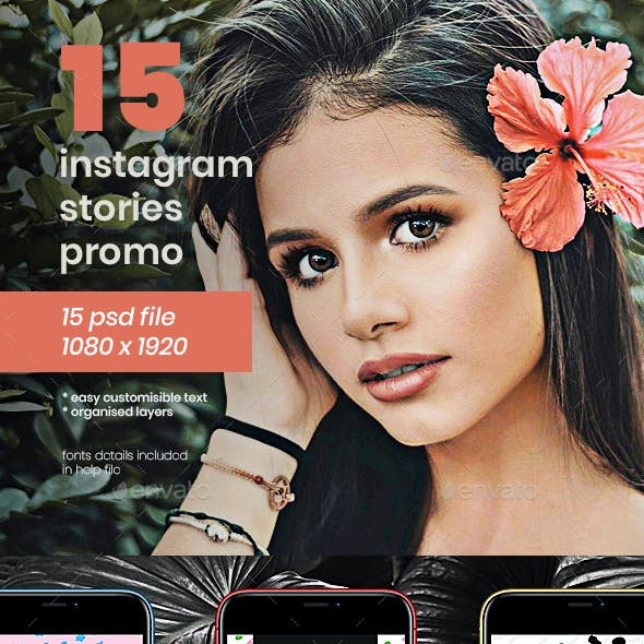 Instagram Stories Promo Pack