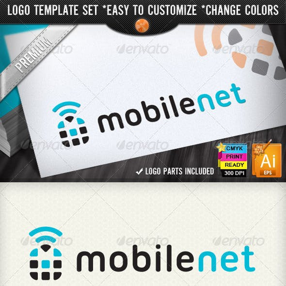 Smart Phone Framework Mobile Networking Logos