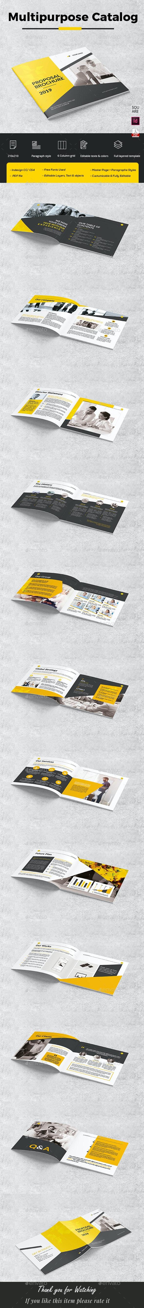 Proposal Brochure - Corporate Brochures