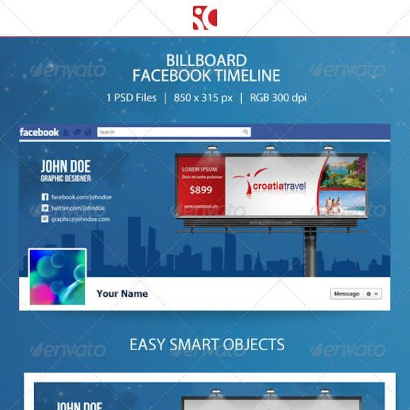 Billboard Facebook Timeline