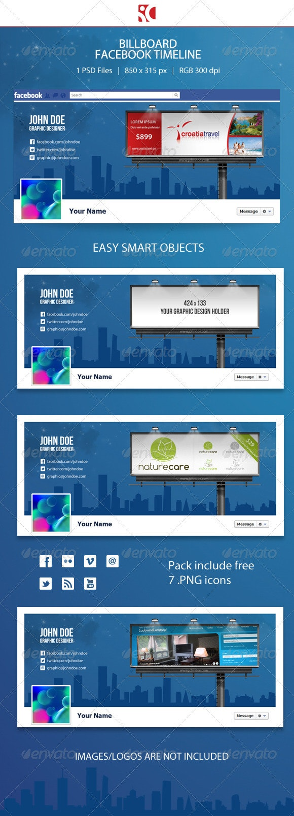 Billboard Facebook Timeline - Miscellaneous Social Media
