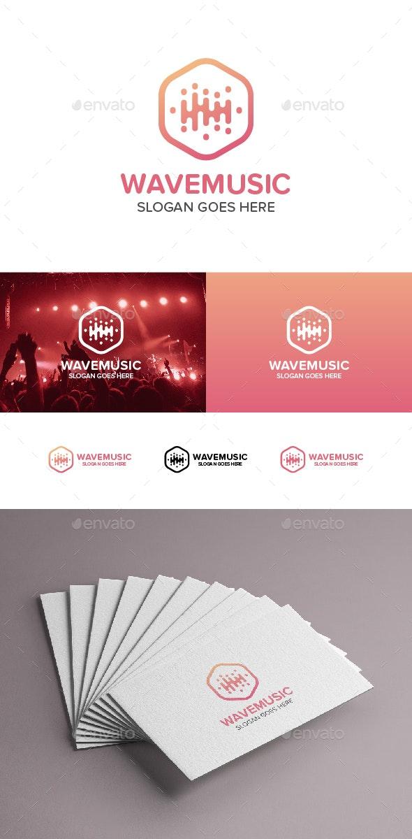 Music Wave Logo - Abstract Logo Templates