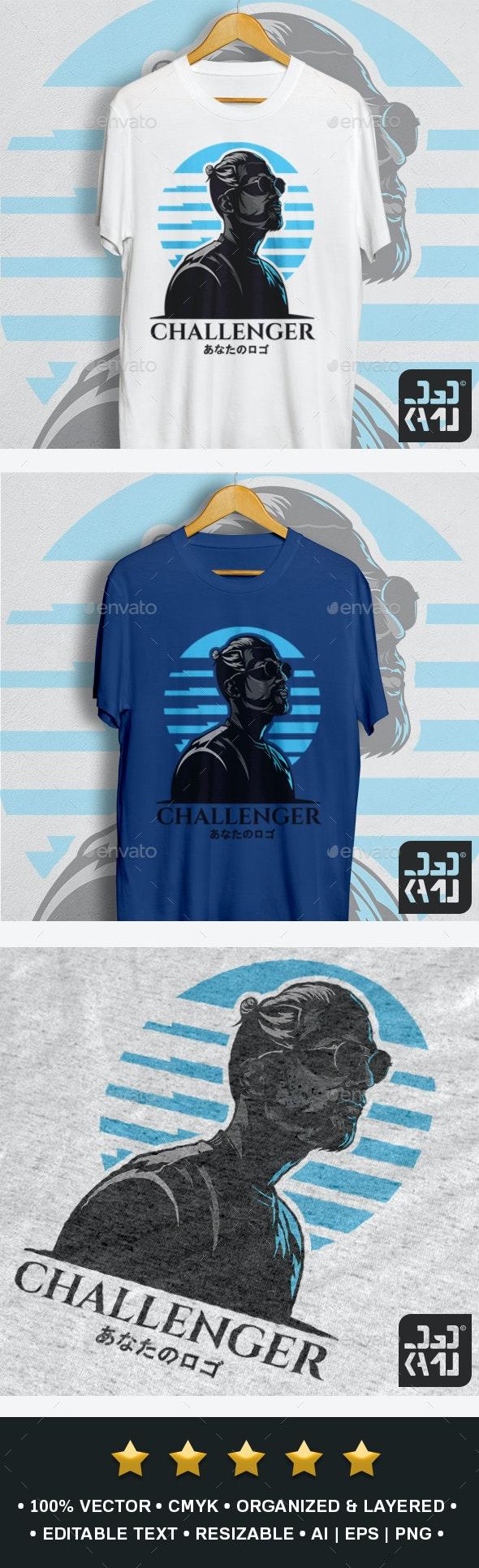 Challenger T-Shirt - Designs T-Shirts