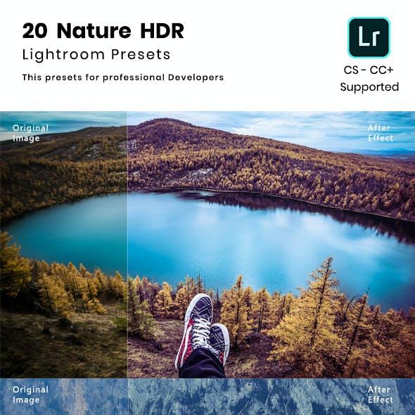 20 Nature HDR Lightroom Presets