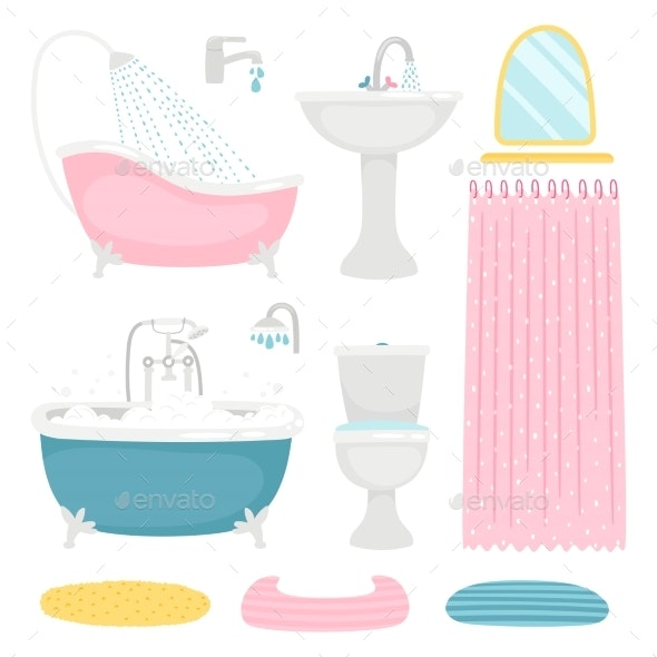 Basic Bathroom Design Elements - Man-made Objects Objects