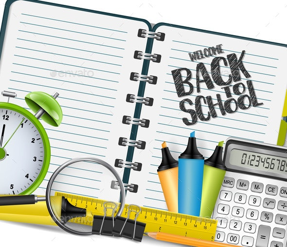 Welcome Back to School - Miscellaneous Vectors