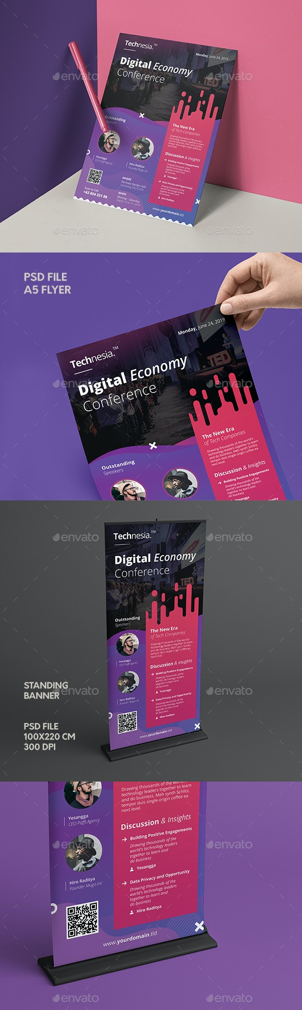 Conference Event Flyer & Banner - Events Flyers