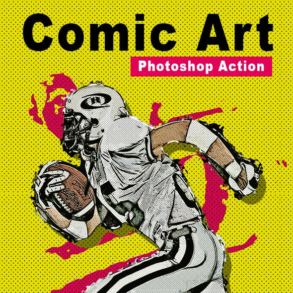 Comic Art Photoshop Action