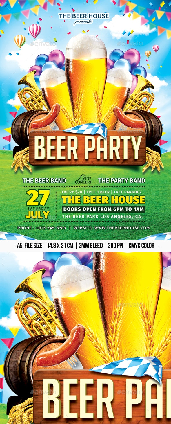 Beer Party - Clubs & Parties Events