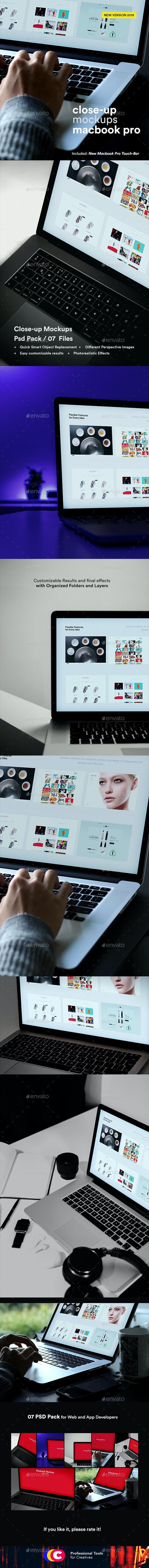 Laptop Mockups 9 - Laptop Displays