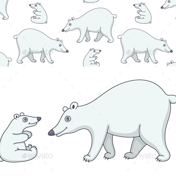 Set of Polar Bears and Pattern