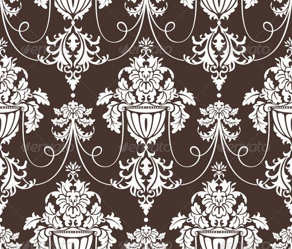 Seamless Retro Wallpaper - Patterns Decorative
