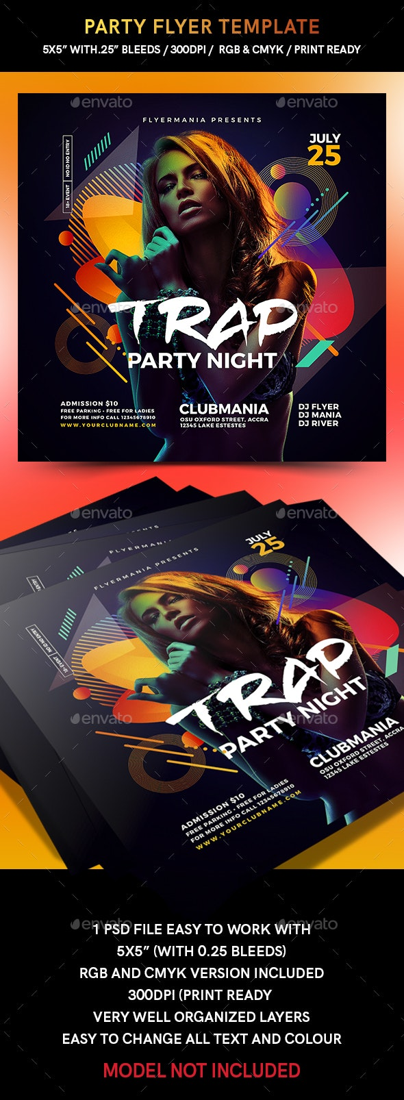 Party Flyer Template - Events Flyers
