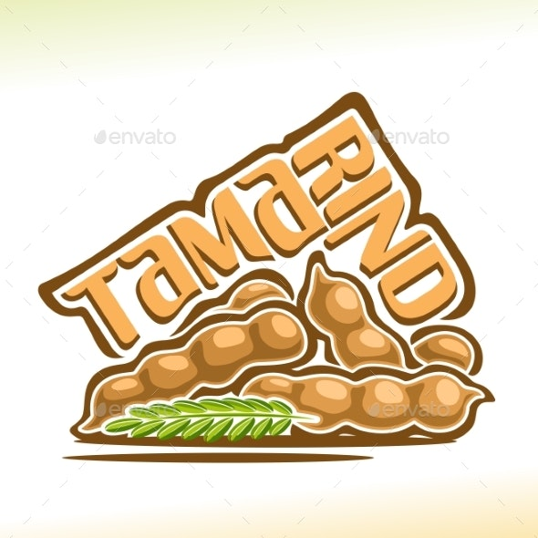 Vector Tamarind Fruit - Food Objects