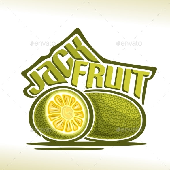 Vector for Jackfruit - Food Objects