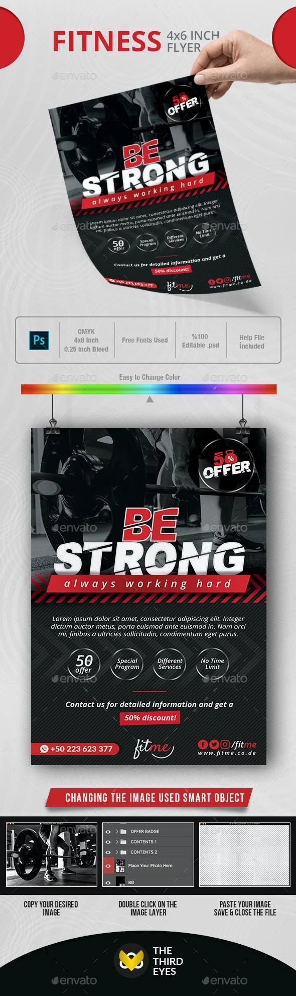 Fitness Flyer - Events Flyers
