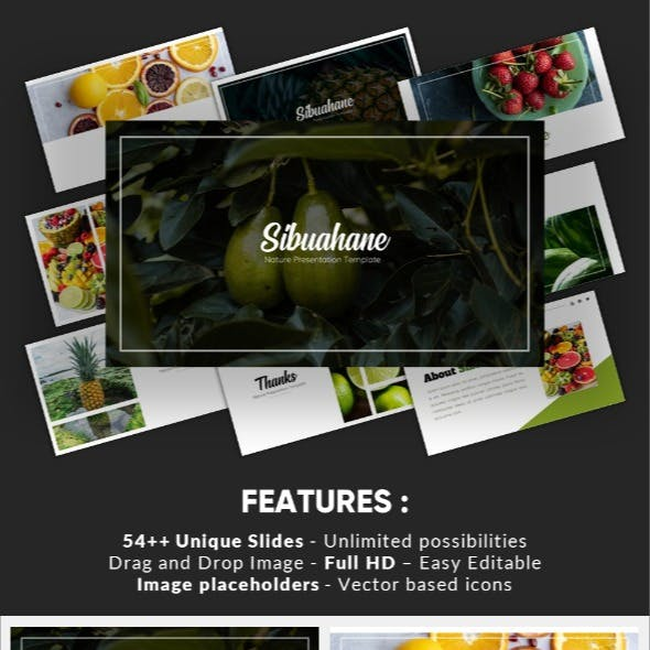 Sibuahane - Natural Keynote Template