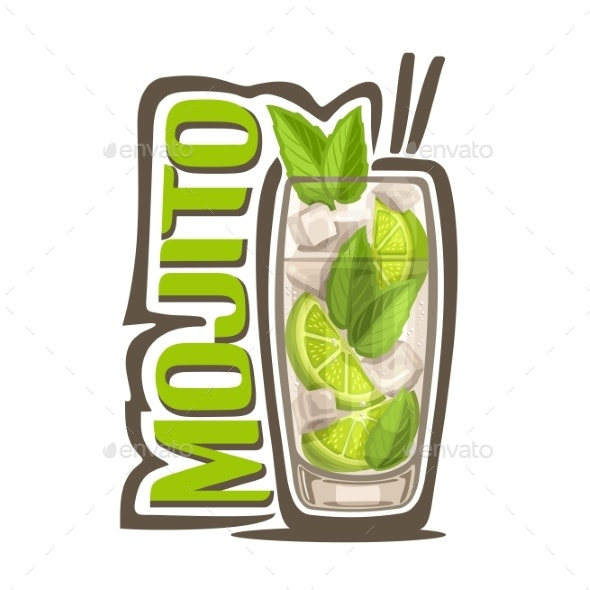 Vector Mojito - Food Objects