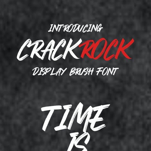 Crackrock Font