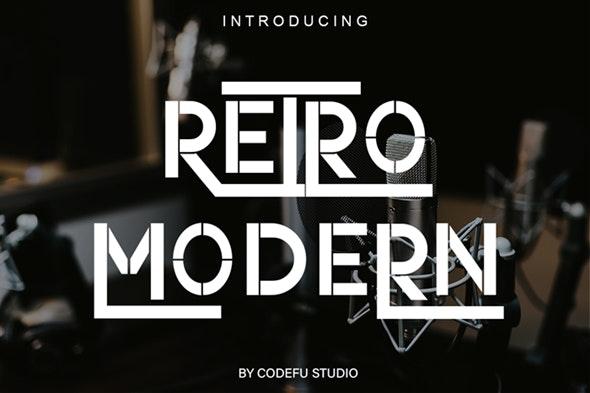 Retro Modern - Cool Fonts