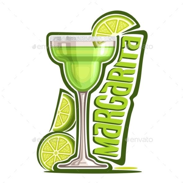 Vector Margarita - Food Objects