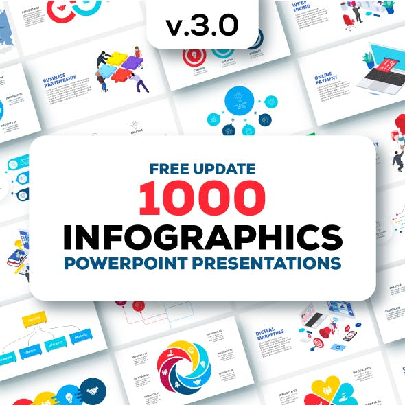 Multipurpose Infographics PowerPoint Templates v.3.0