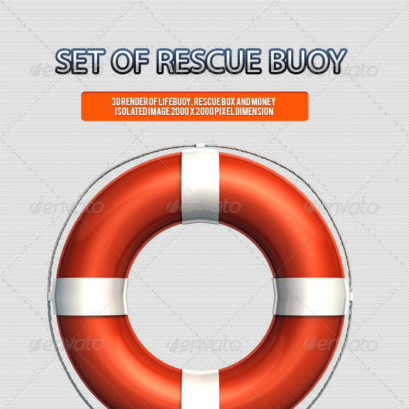 Set of Rescue Buoy