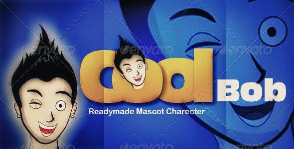 CoolBob Character  - Characters Vectors