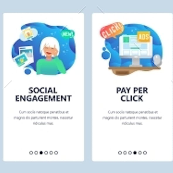 Mobile App Onboarding Screens Pay Per Click