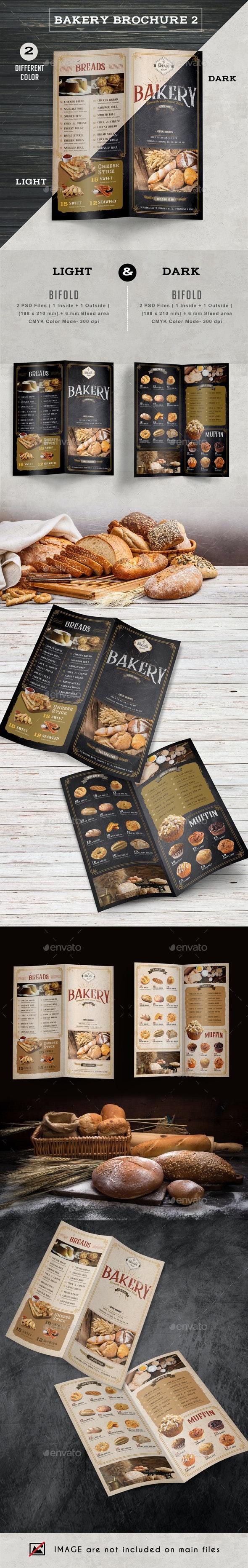 Bakery Brochure 2 - Brochures Print Templates