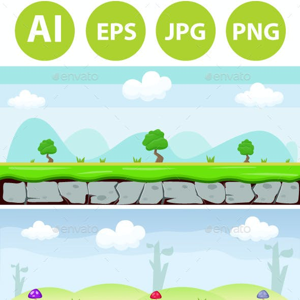 6 Game Background Bundle