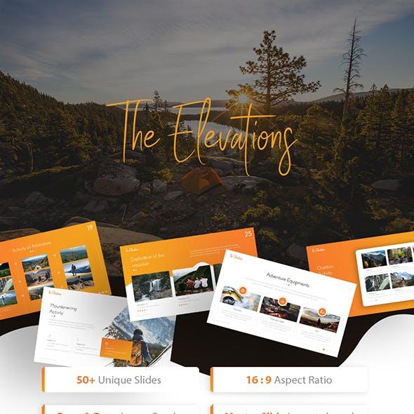 Elevations - Adventure Keynote Template