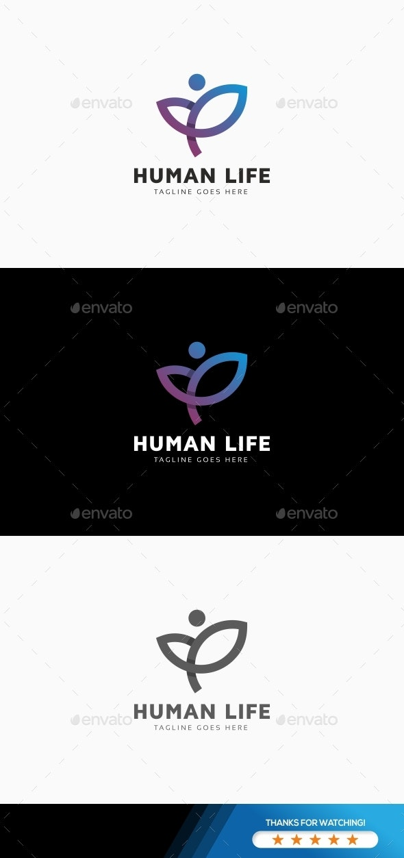 Human Life Logo - Humans Logo Templates