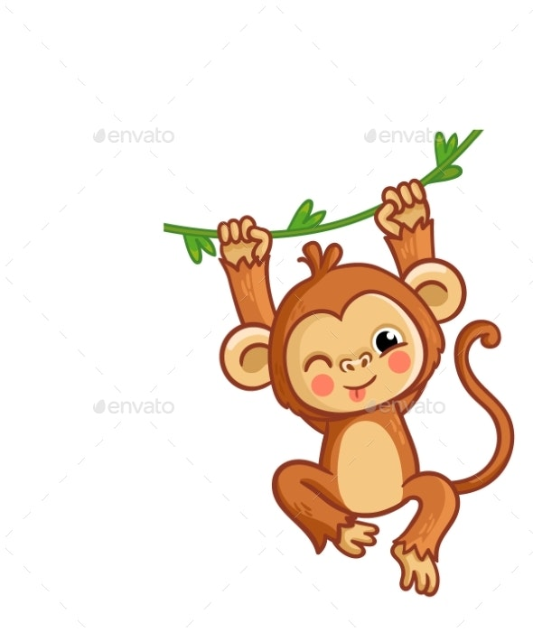 The Monkey Winks - Animals Characters