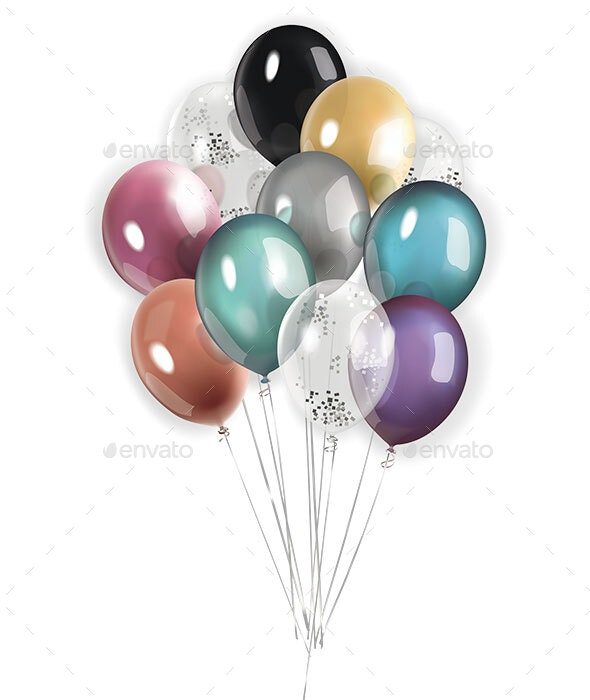 Colorfool Balloons - Man-made Objects Objects