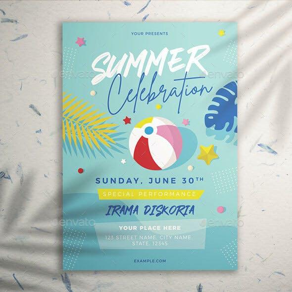 Summer Celebration Flyer Vol. 01