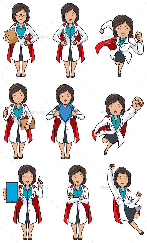Super Doc Set - Health/Medicine Conceptual