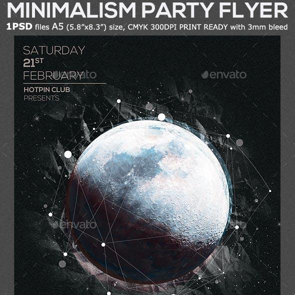 Moon Party Flyer