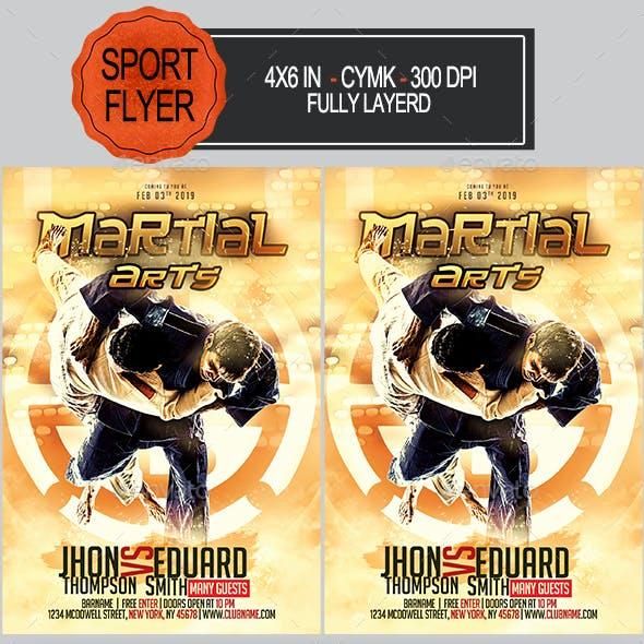 Martial Arts Flyer