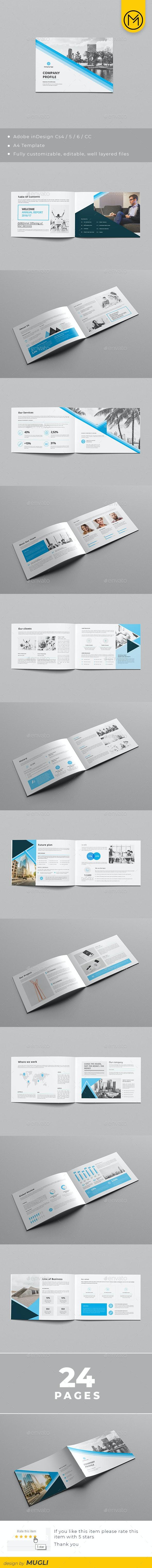 Landscape Corporate Brochure - Corporate Brochures