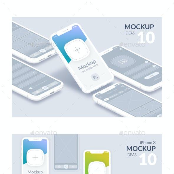 Mockup Mobile Device